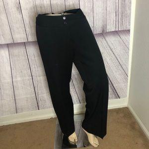 Oscar Del a Renta black dress pants size 8 EUC